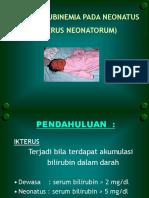 Icterus Neonatorum Dr. TR