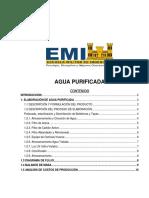 Informe Modelo Planta de Tratamiento de Aguas