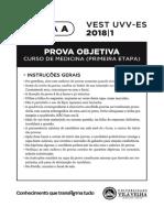 Prova UVV 2018-1