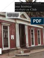 Notas Historicas de La Psicologia en Chile