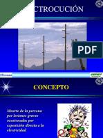 5.- Electrocucion