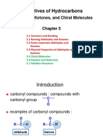 Chapter 5 Aldehydes, Ketones, and Chiral Molecules.pptx