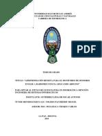"ADMINISTRACIÓN REMOTA PARA EL MONITOREO DE SENSORES EN BASE A RADIOFRECUENCIA APLICANDO ARDUINO"""