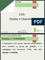 13.Aula 7 - CSS - Display e Opacidade