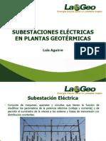 Subestaciones Eléctricas en Plantas Geotérmicas JETIE 2016
