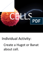 1. Intro, Cell Structure