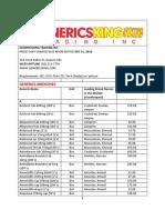 genericsking trading inc generics medicines  wholesale