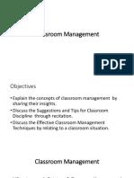 7 Classroom Management