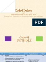 (b) Coded Defects