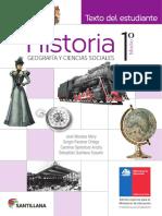 Historia, Geografía y Ciencias Sociales 1º Medio - Texto Del Estudiante