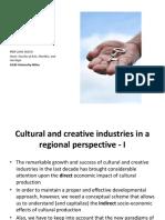 Culture as a Source of Economic and Social Value Pier Luigi Sacco