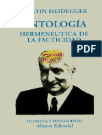 Heidegger, Martin - Ontologia. Hermeneutica de la facticidad.pdf