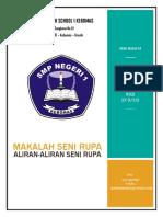 Cover Seni Rupa