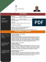 CV Eliécer Ortiz Brito.