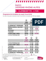 Ligne Clermont-Lyon