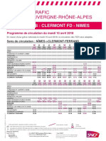 Clermont-Ferrand - Nîmes