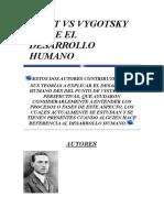 PIAGET VS VYGOTSKY SOBRE EL DESARROLLO HUMANO.doc