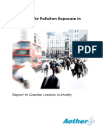 Analysing Air Pollution Exposure in London - Technical Report - 2013