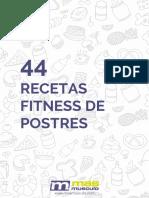Recetas Fitness Postres