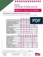 Ligne Clermont - Volvic - Les Ancizes