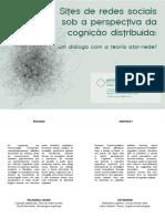 Sites de Redes Sociais Sobre a Perspectiva Da Cognicao Distribuida Dialogo Com a Teoria Ator-Rede - Patrica Rossini