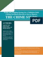 CHIME Study Design