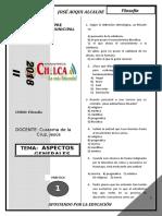 De Prof Jesús Curasma--práctica de Filosofìa - Aspectos Generales ---Para -- Academia Municipal