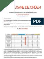 1520425974Cronograma de Estudos - 30 Dias - Para o XXV Exame de Ordem