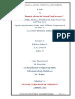 Birla Sun Life Mutual Fund Report
