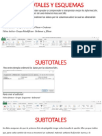 Explicacic3b3n Subtotales y Esquemas Power Point