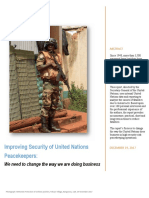 Improving Security of United Nations Peacekeepers Report