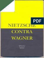 Nietzsche-Nietzsche contra Wagner-capítulo