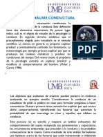 ANALISIS CONDUCTUAL