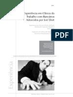 [Texto 7]  Experiencia em Clinica do Trabalho com Bancarios Adoecidos por LER-DORT.pdf