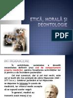 Etica Morala Si Deontologie