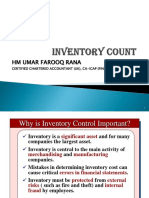 Inventory Count Slides