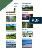 Lugares Turisticos de Los Deptos de Guatemala