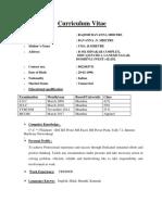 my resume 25-6-17