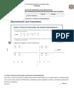 Prueba de Operaciones Con Fracciones.doc 6tos