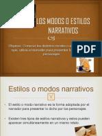 Modos o Estilos Narrativos.pdf