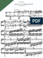 Liszt - Beethoven_symphony No.7