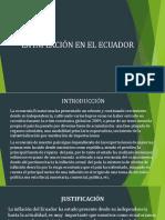 INFLACIÓN EN EL ECUADOR