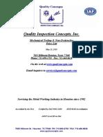 QCI Services Pricelist