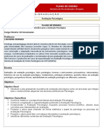Plano de Ensino Perspectivas Atuais e Desafios Para a.P.
