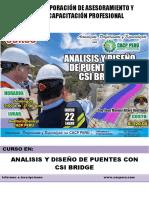 Analisis y Diseño de Puentes Con Csi Bridge