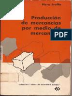Producción de mercancías por medio de mercancías - Piero Sraffa.pdf