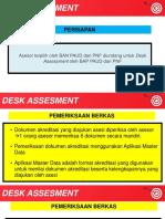 Desk Assessment