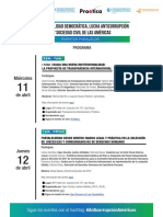 VIII Cumbre PROGRAMA Eventos Paralelos SC 11 12 y 13 Abr 18