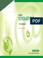 Email Etiquette- Guidebook