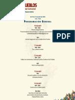 Programa Cumbre de Los Pueblos